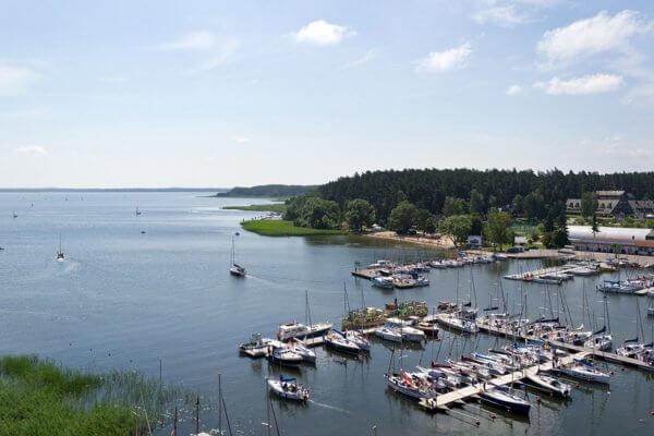 איזור האגמים בפולין