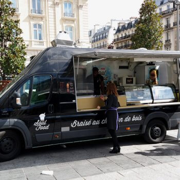 food truck פריזאית