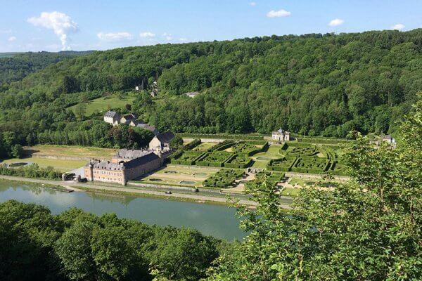 פארק המבוכים בחבל הארדנים בבלגיה