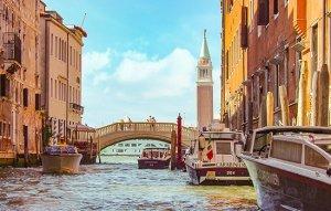 סירות, תעלה וגשר בונציה