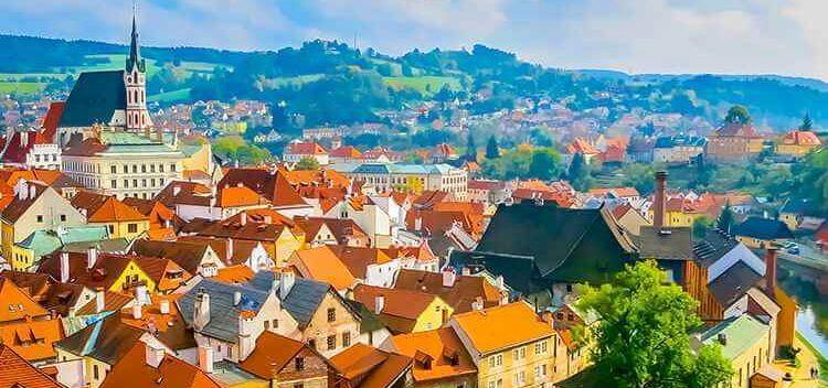 צ'כיה דרום בוהמיה ואוסטריה
